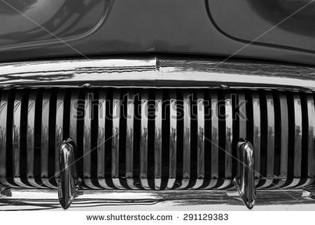 Car Grill Stock Images, Royalty.