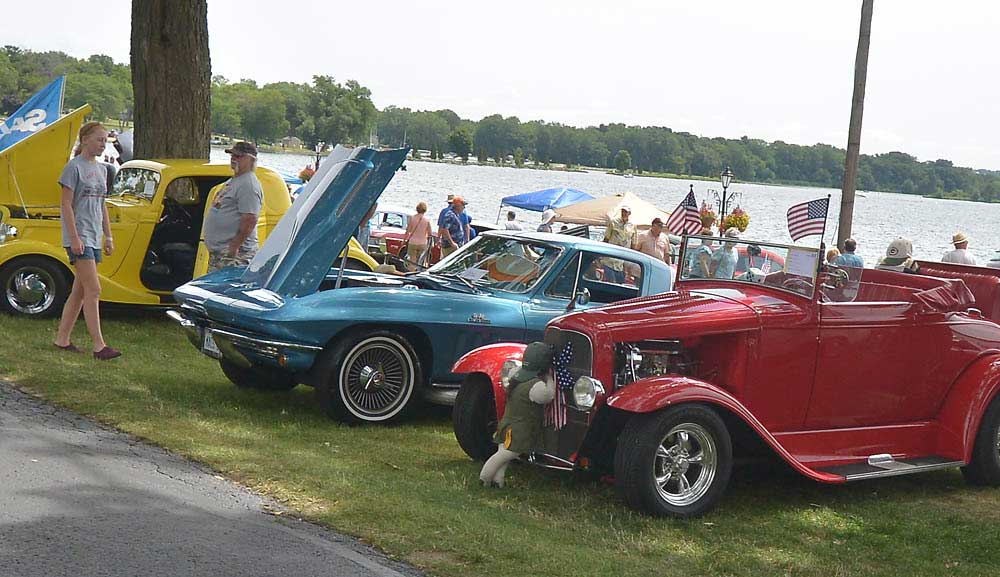 Delavan Car Show at Lake Lawn Resort Sunday, July 9, 2017.