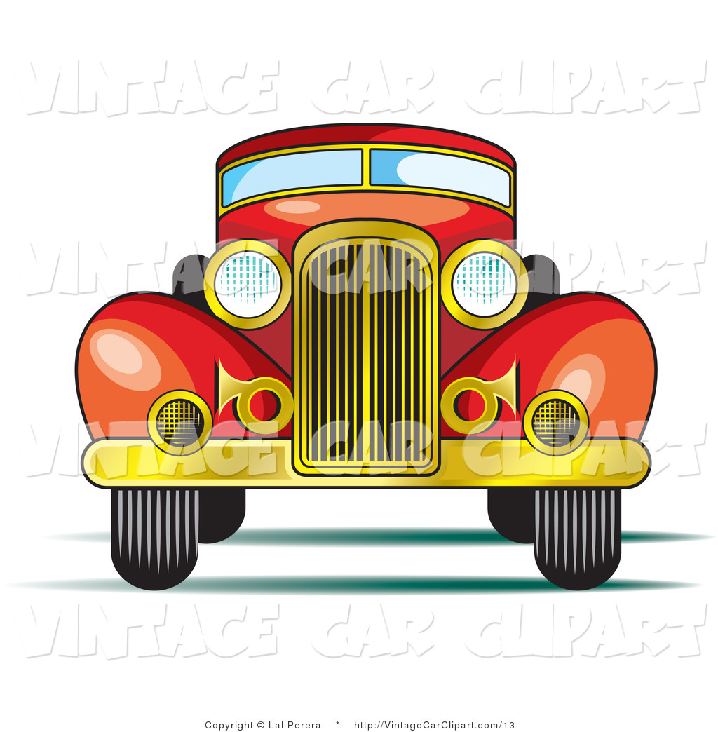 Royalty Free Stock Vintage Car Designs of Classic Cars.