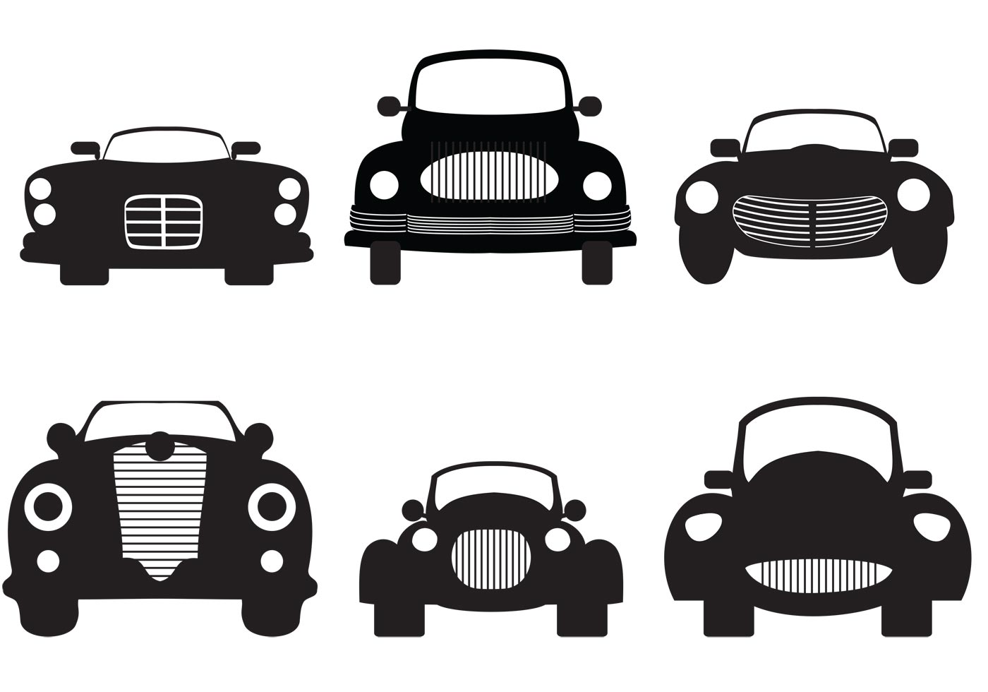 Tractor Front Grill Clip Art : Classic car grill clipart clipground