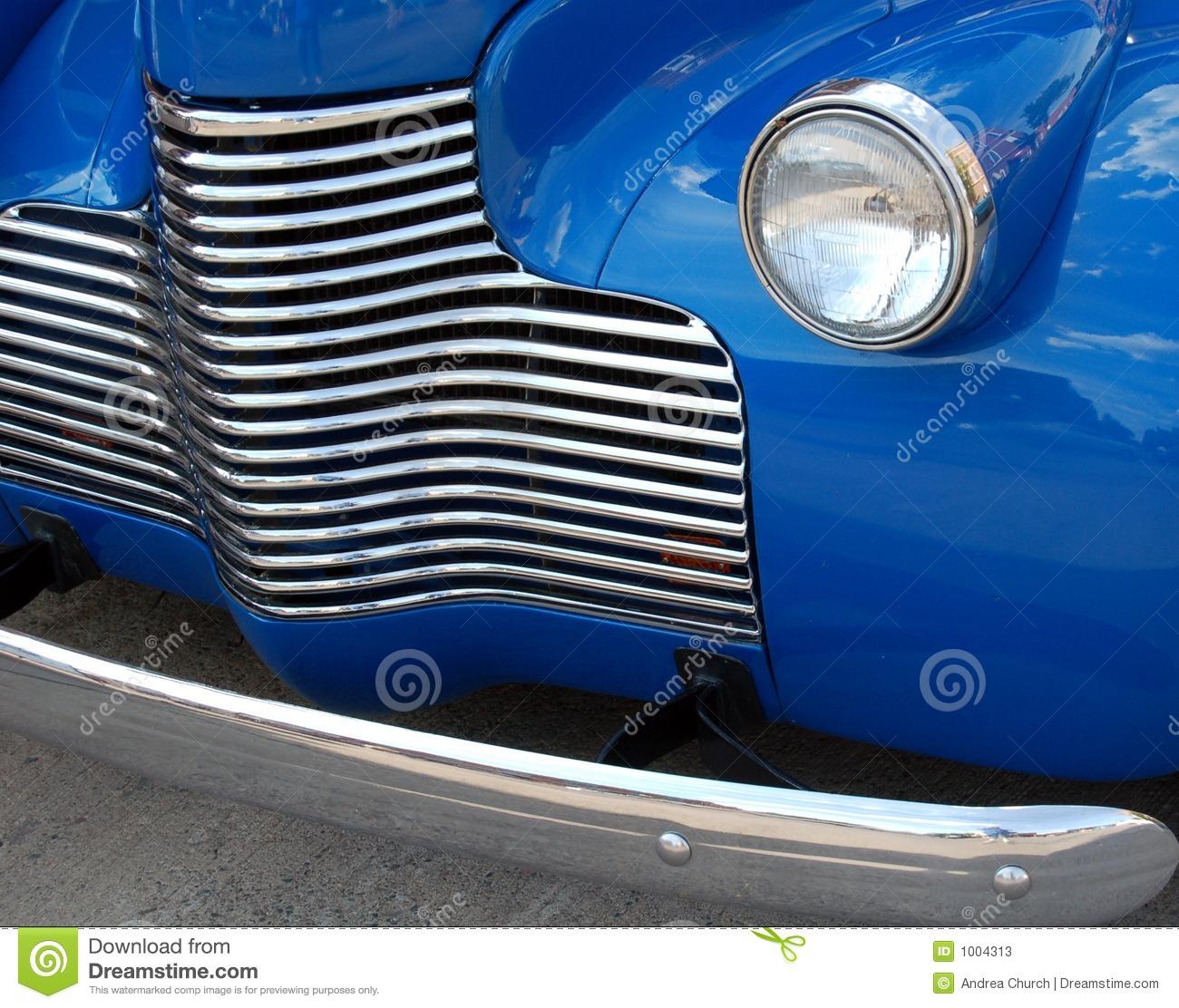 Classic Car Grill Stock Photos.