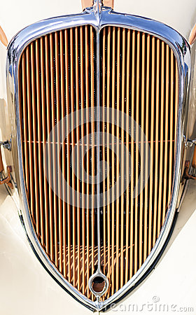 Vintage Car Grill Royalty Free Stock Images.