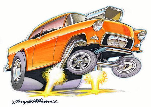 classic car happy birthday free clipart #16