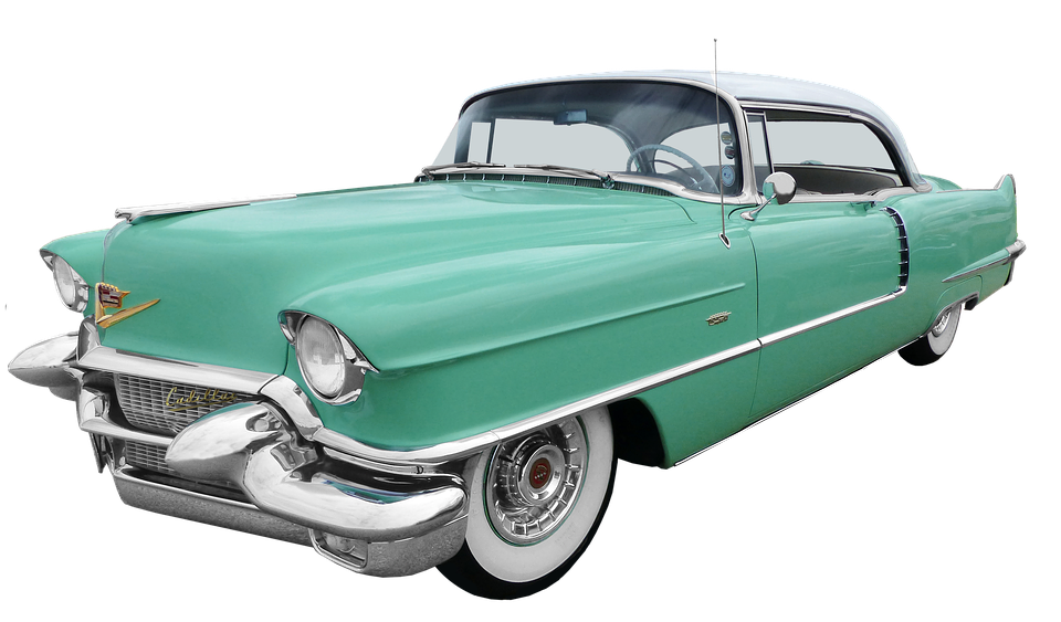 Oldtimer Cadillac Coupe.