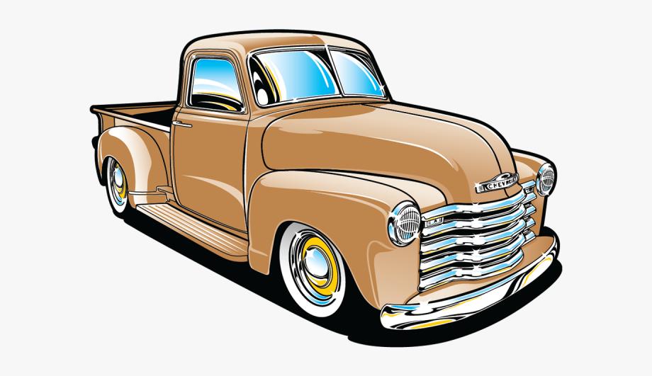 Pin Classic Truck Clipart.