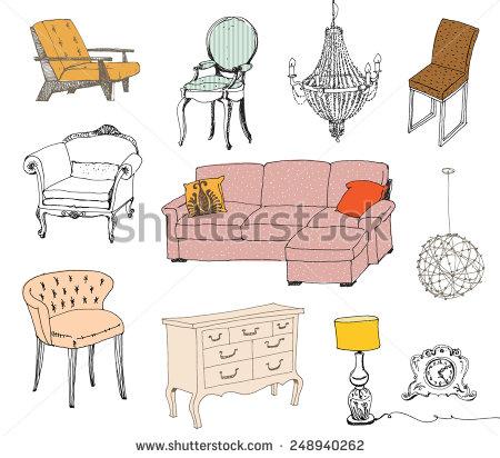 Classic Furniture Stock Vectors, Images & Vector Art.