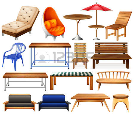98,349 Furniture Stock Vector Illustration And Royalty Free.