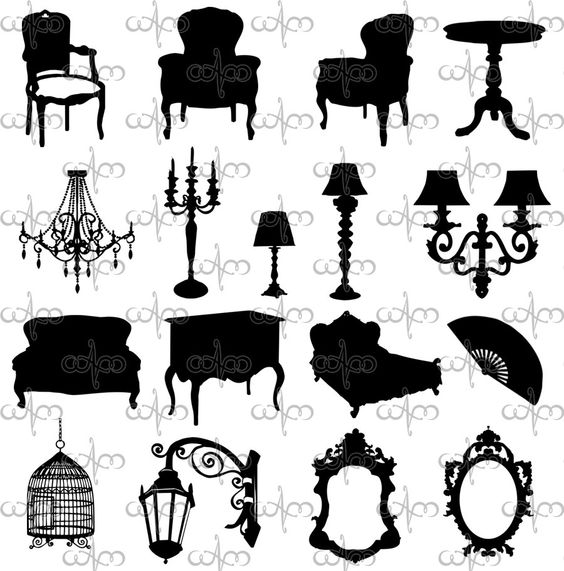 Baroque, Furniture and Clip art on Pinterest.