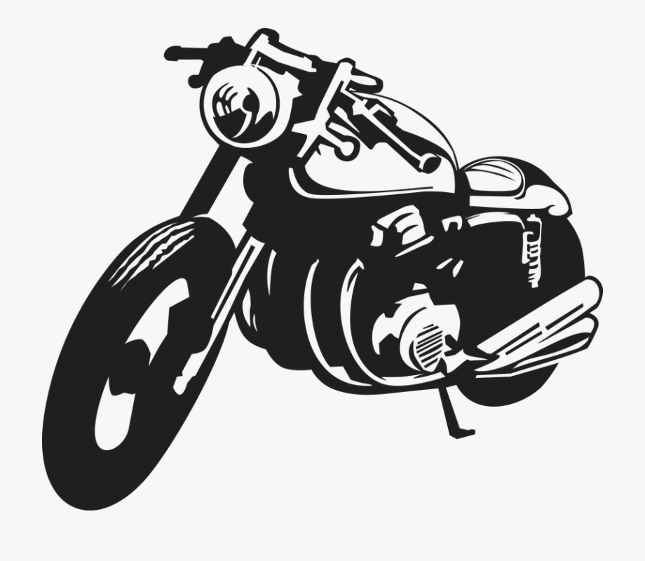 Motorcycle Clipart Transparent Background.