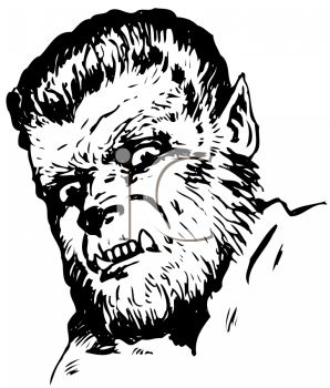 Wolfman Clipart.