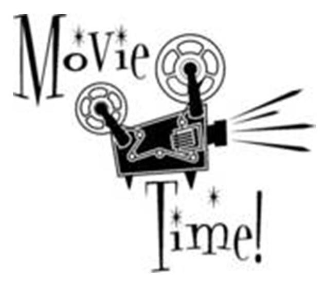 Classic Movie Clipart