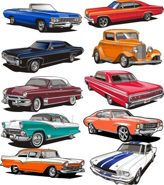 Image result for free classic car clipart.