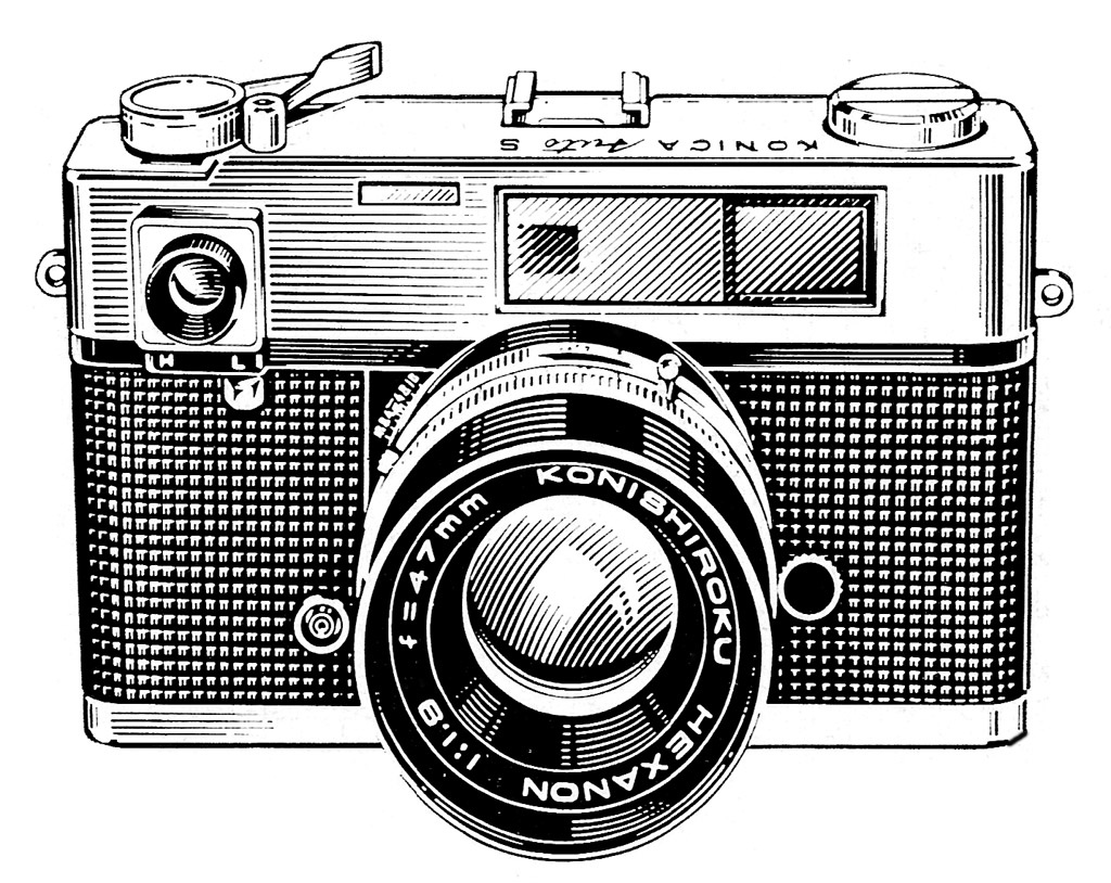 Line Art Camera : Classic photography clipart clipground