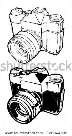 Camera Clip Art Stock Photos, Royalty.