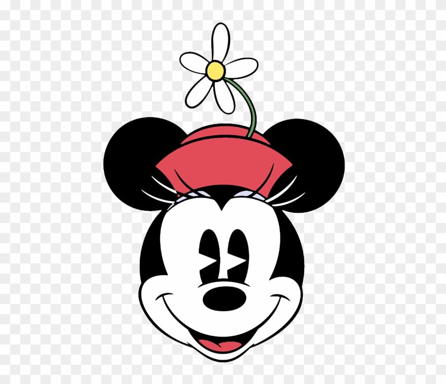 Clip Art Of Disney's Classic Minnie Mouse.