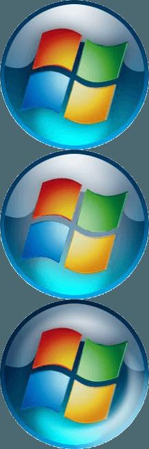 Classic Windows Logo.