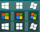 Windows Start Button Icon Png #163571.