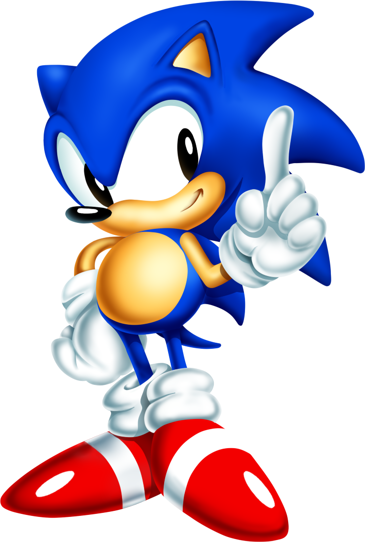 Classic Sonic Png (+).