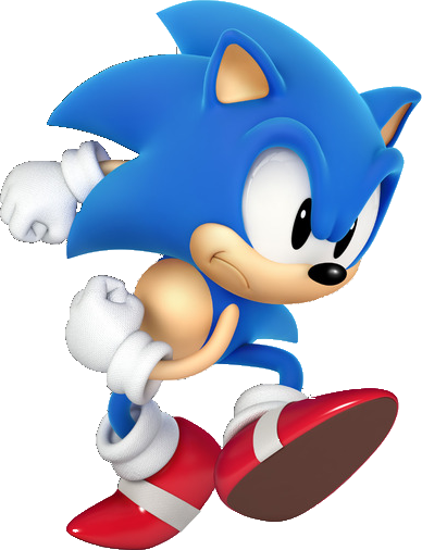 Classic Sonic Png Vector, Clipart, PSD.