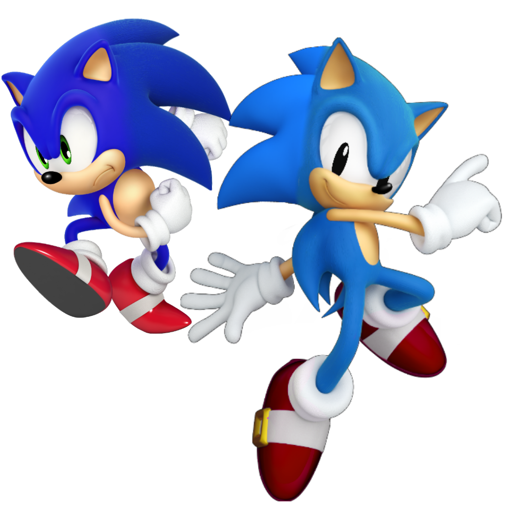 Modern and classic sonic but seriously cursed : SonicTheHedgehog.