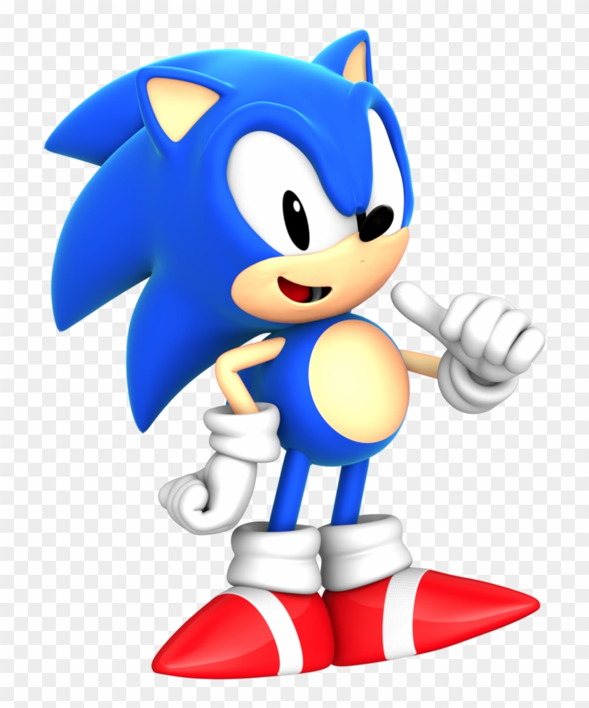 Classic Sonic Png.
