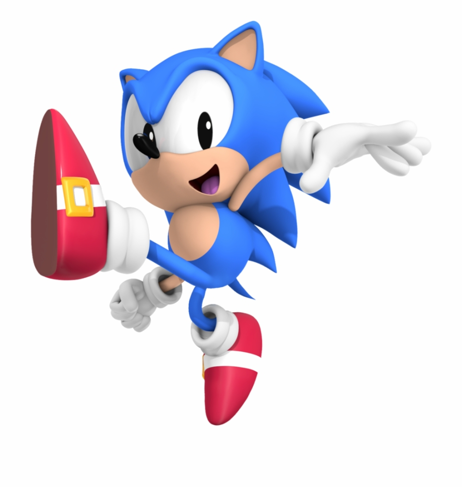 Sonic The Hedgehog Clipart Classic Sonic.