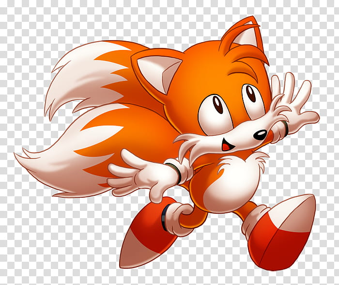 Classic Tails, Classic Tails character transparent.