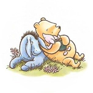 And so in the spirit of Pooh.