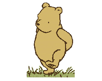 Free classic pooh clipart PNG and cliparts for Free Download.