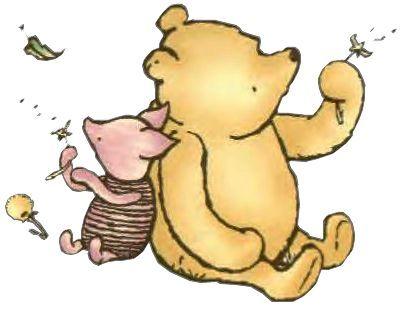Classic Winnie the Pooh Clip Art.