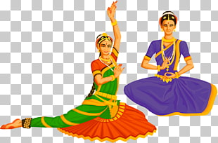104 Indian classical dance PNG cliparts for free download.