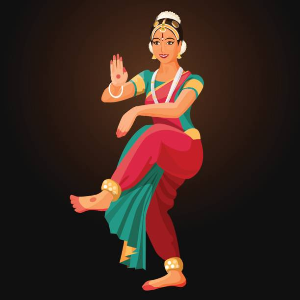 Best Classical Dance Illustrations, Royalty.