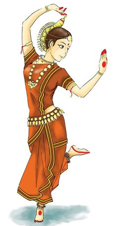 Indian classical dance bharatanatyam clipart 3 » Clipart Station.