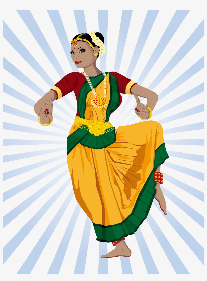 Dance In India Dance In India Clip Art.