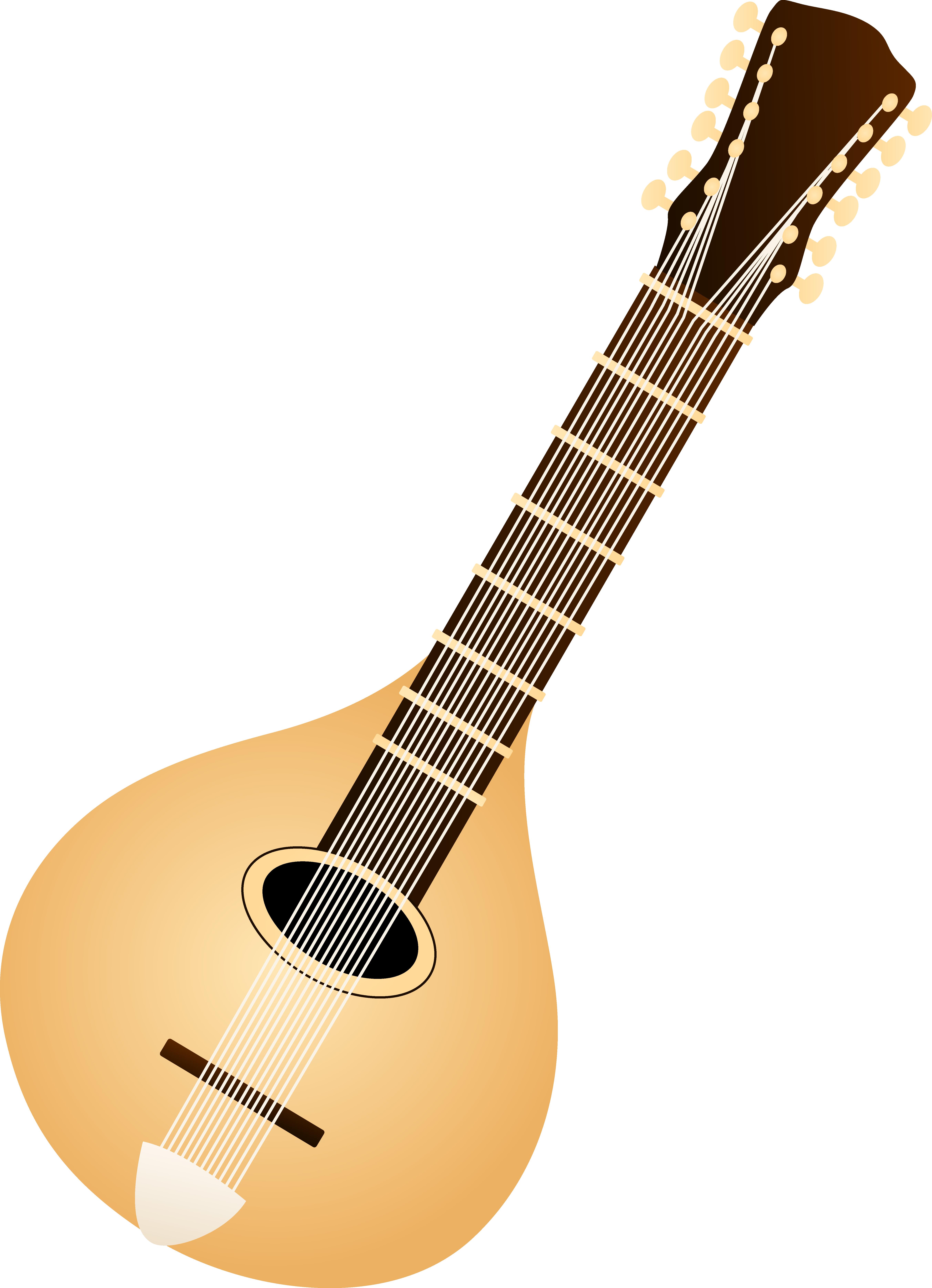 Classic Mandolin Design.