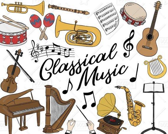 Classical music clipart 3 » Clipart Portal.