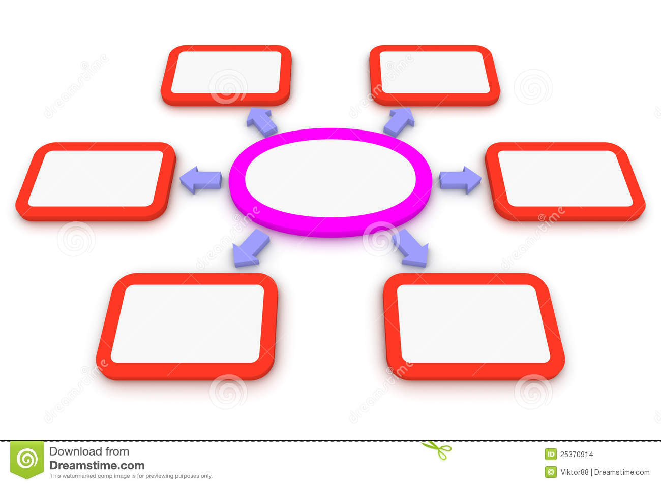 six branches clipart