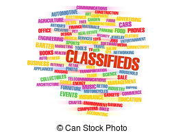 Classifieds Clipart and Stock Illustrations. 997 Classifieds vector.