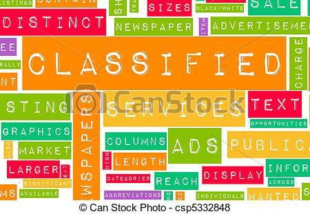 Classified Ads.