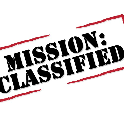 MISSION CLASSIFIED: that\'s our namenow we need a logo.