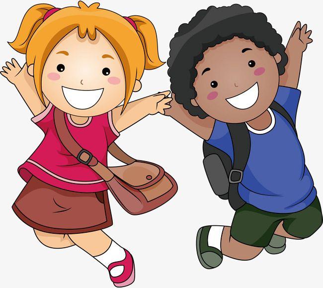 يذهب الأطفال إلى المدرسة, طلاب مادة, زميل العناصر, مادة.