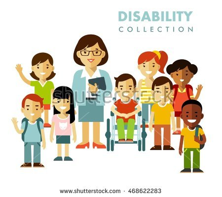 Special Needs Children Stock Vectors, Images & Vector Art.