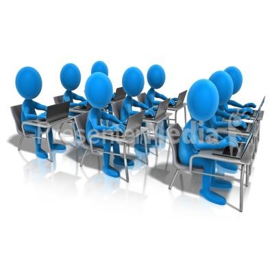 Students Clipart Classroom.