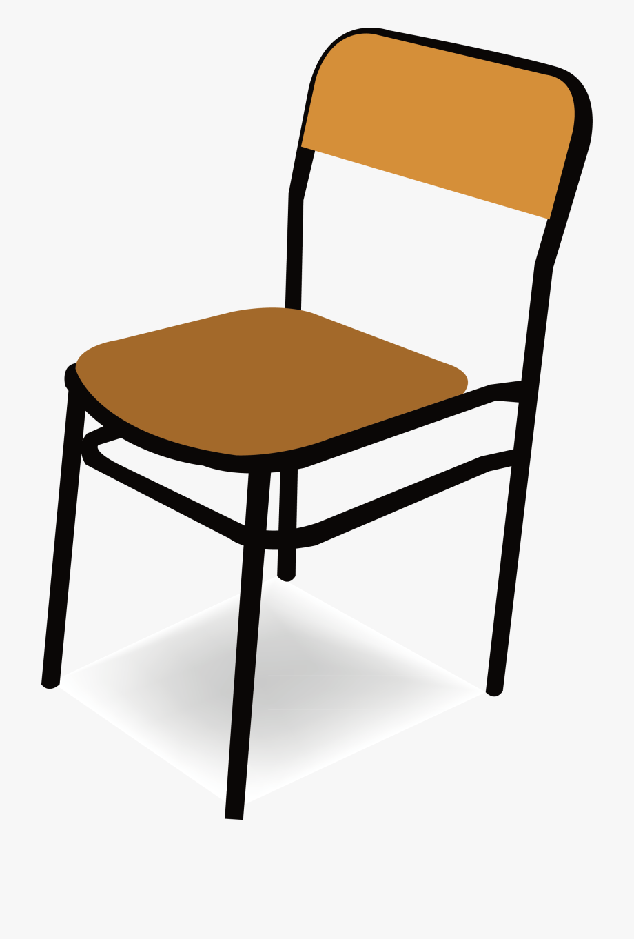 Classroom Vector Chair.