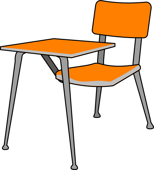 Desk School Chair.