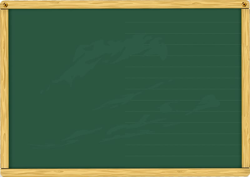 Chalkboard illustration, Blackboard Green Wood stain Varnish.