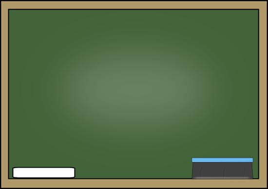 Classroom chalkboard background clipart.