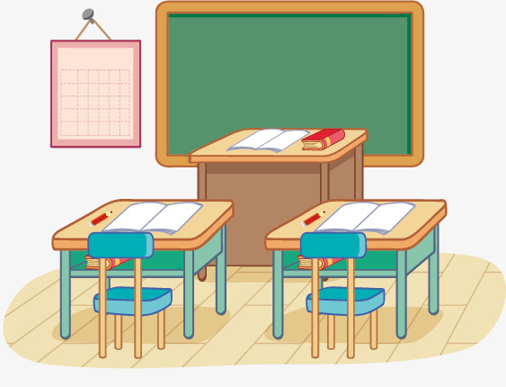 Classroom Clipart Our We Png Detail Class Room Genuine 5.