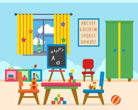 7,902 Preschool Classroom Cliparts, Stock Vector And Royalty Free.