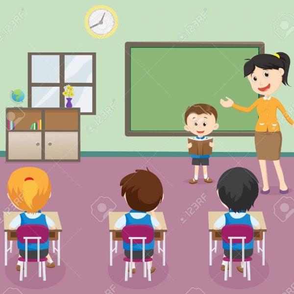 Class Clipart Full Classroom.